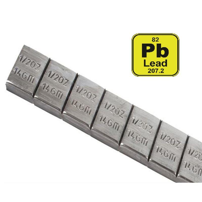 Lead Adhesive Wheel Weights