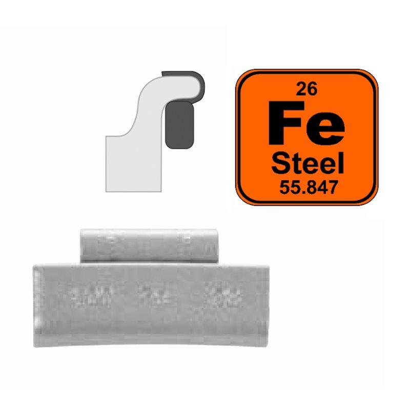 Steel Clip-On Wheel Weights