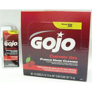 GOJO CHERRY GEL-.5FL OZ PACKET