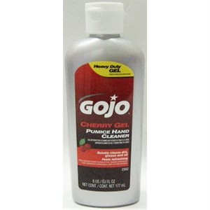 GOJO CHERRY GEL - 6OZ SQZ BTL