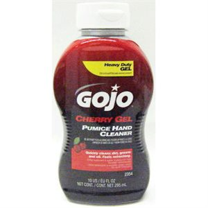 GOJO CHERRY GEL - 10OZ SQZ BTL