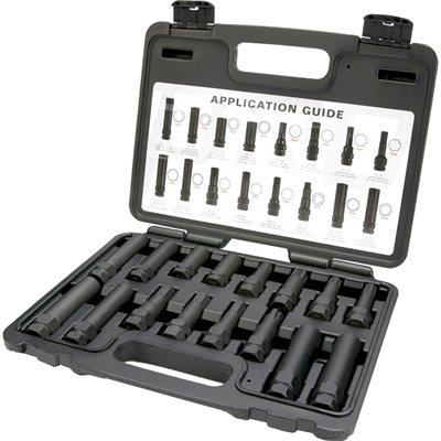 Steelman Pro 16 Piece Locking Lug Nut Master Key Set