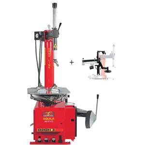 AS914TI-2SP Swing Arm Tire Changer With RPX Helper Arm