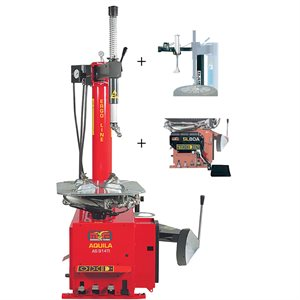AS914TI-2SP Swing Arm Tire Changer With SX1 Helper Arm & LIFT