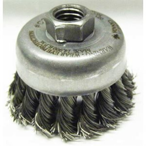 2-3/4 KNOT.020 WIRE CUP BRUSH