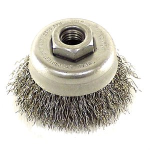 2-3/4IN WIRE CUP BRUSH CRIMPED