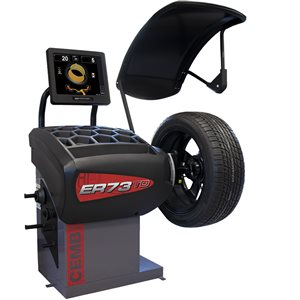 ER73TD AUTOADAPTIVE™ OPB WHEEL BALANCER WITH SPOTTER LASERS