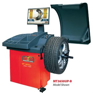 MT3650UP Digital Wheel Balancer With 2 Plane Data Entry