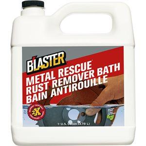 METAL RESCUE RUST REMOVER BATH 1 GAL / 3.78 L