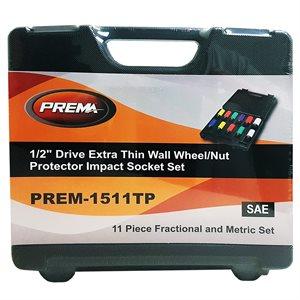 "11 Piece — 1/2"" Drive Extra Thin Wall Protector Socket Set"
