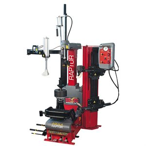 AQUILA RAPTOR LEVERLESS TIRE CHANGER WITH BUILT-IN LIFT AND SX1 HELPER ARM