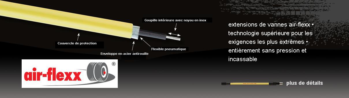 Extensions de valves air-flexx